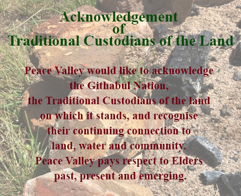 acknowledge traditional custodians