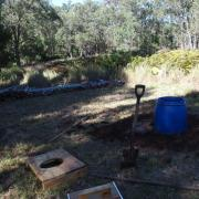 Components for compost toilet