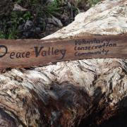 Peace Valley Sign