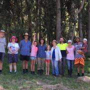 Planting group photo at end of weekend