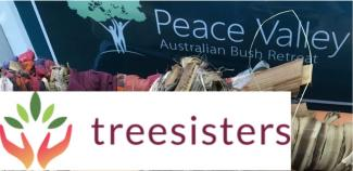 Peace valley and Tree Sisters Logo